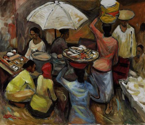 Indonesian Visual Art Archive Karya Karya Barli Sasmitawinata